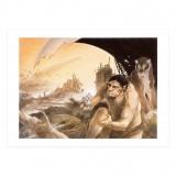 Art print Atomium: Le futur du passé (signed by Frank Pé)
