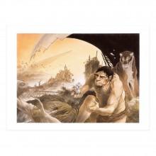 Tirage d'art - Atomium: Le futur du passé (signée par Frank Pé)