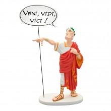 Figurine Astérix, César Veni Vidi Vici