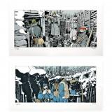 Diptyque Tardi Art prints Les tranchées (Collin)