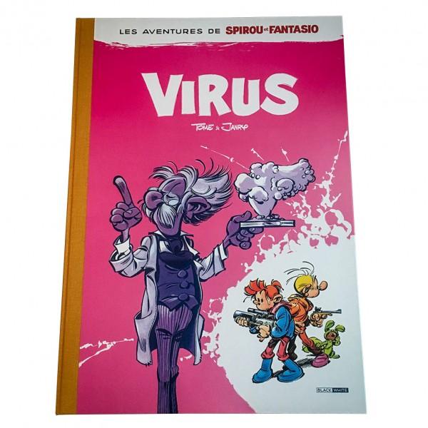 Deluxe album Spirou et Fantasio Virus (french Edition)