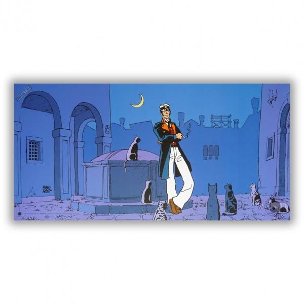 Corto Maltese ''Theatre'' - Affiche édition d'art