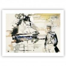 Corto Maltese ''Avevo un appuntamento'' - Affiche édition d'art