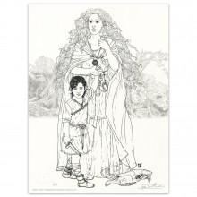 Béatrice Tillier - Lithographie Flamina et Décors