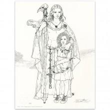 Béatrice Tillier - Lithographie Ceylan et Décors