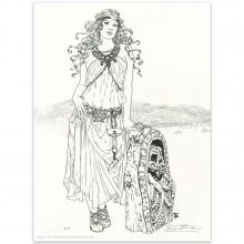 Lithography Béatrice Tillier LastWitch et Décors