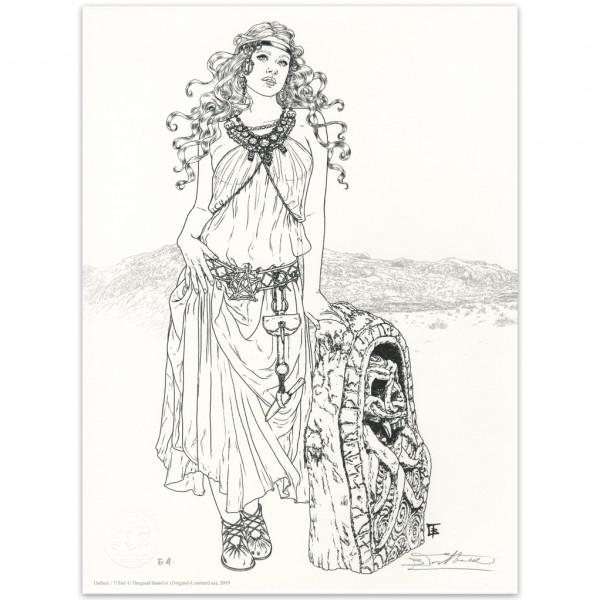 Béatrice Tillier - Lithographie LastWitch et Décors