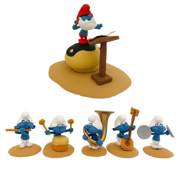 Figurine Fariboles The Smurfs orchestra part 1
