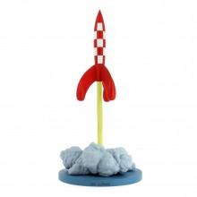 Tintin - Décollage de la fusée lunaire