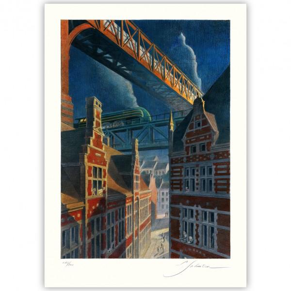 Art print Type 12 The Bridge