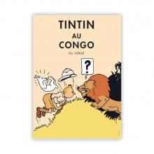 Affiche Tintin - Congo