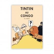 Poster Tintin Congo