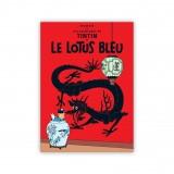 Affiche Tintin - Le Lotus Bleu