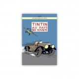 Affiche Tintin - Tintin au pays des Soviets (Version colorisée)