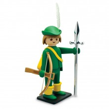 Giant Playmobil The young harquebusier