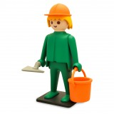 Giant Playmobil The bricklayer