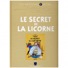 Book Tintin's archives, The secret of the unicorn (french Edition)