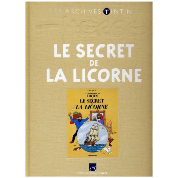 Livre Le Secret de la Licorne Les Archives Tintin