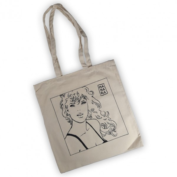 Tote Bag Milo Manara (Blanc)