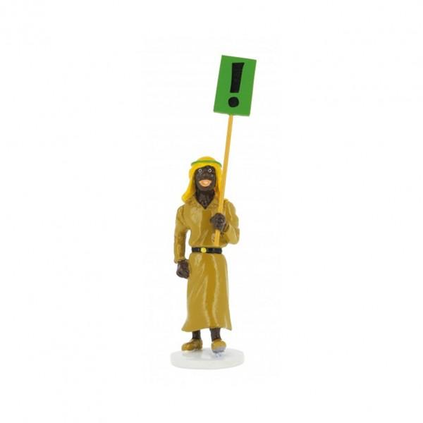 Abdul - Carte de Voeux 1972 - Figurine Tintin