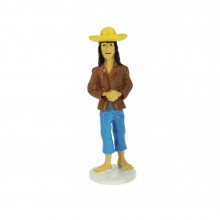 Figurine Caraco, Tintin wish card 1972