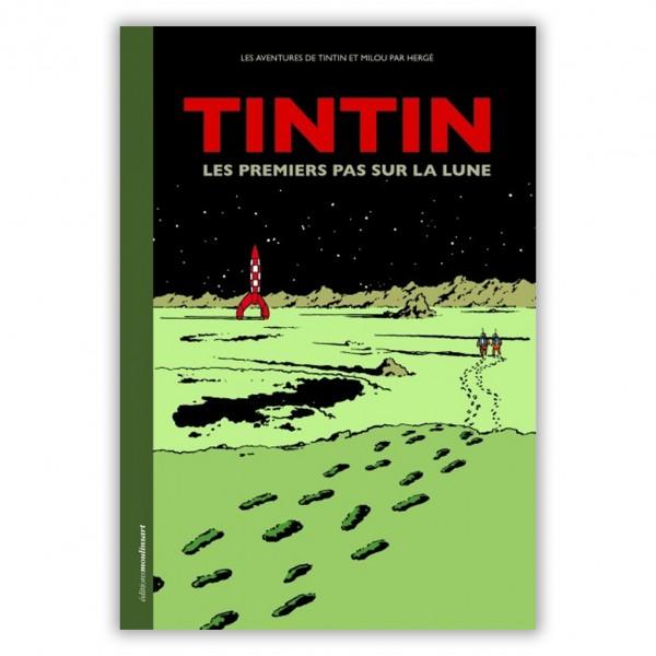 Tintin, Les premiers pas sur la Lune