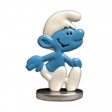 Mini-Schtroumpf - Figurine en étain - Version couleur