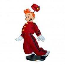 Spirou par Chaland - Figurine en étain - Version couleur