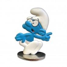 Schtroumpf à lunettes - Figurine en étain - Version couleur