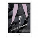 Silkscreen print Tribute to Truffaut by Schuiten