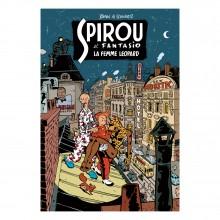 Deluxe album Spirou La Femme Léopard (classic french version)