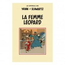Spirou - La Femme Léopard - Tirage de luxe - version salon