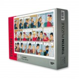 Puzzle Tintin sticking plaster (french edition)