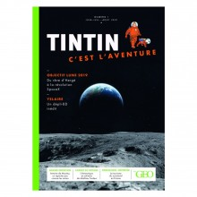 Magazine Géo Tintin Vol. 1 Space conquest (french Edition)