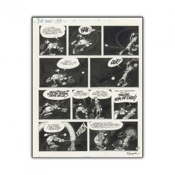 Idées Noires de Franquin 43 - Impression sur Aluminium