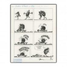 Idées Noires de Franquin 62 - Impression sur Aluminium