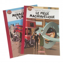 Album The Adventures of Philip and Francis T1 and T2 (french Edition)