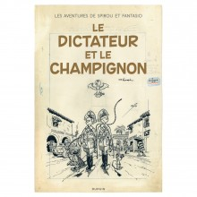 Deluxe album Spirou The Dictator and the Mushroom (french Edition)
