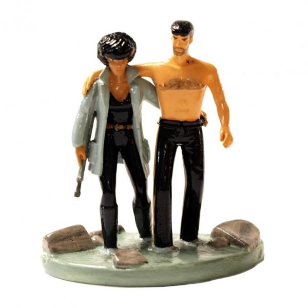 Figurine Pixi XIII and Major Jones