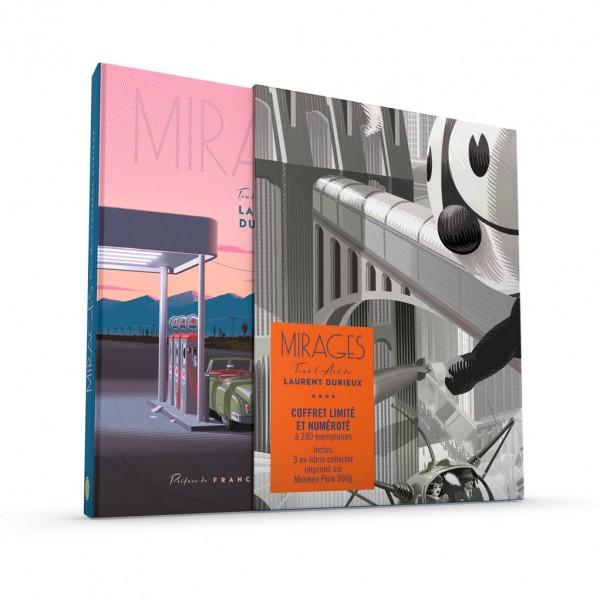 Box set Mirages Tout l'art de Laurent Durieux (french Edition)