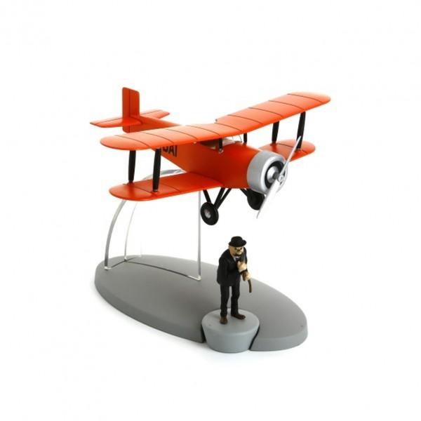 Tintin L'île Noire - Le biplan d'acrobaties