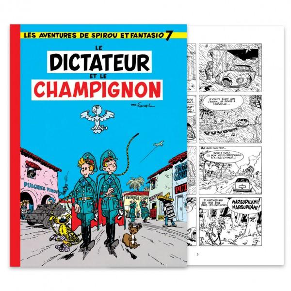 Spirou, Le Dictateur et le Champignon - NB - Hennebelle