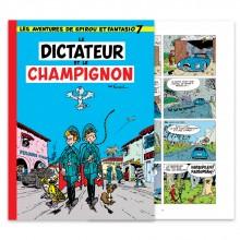 Spirou, Le Dictateur et le Champignon - Couleur - Hennebelle