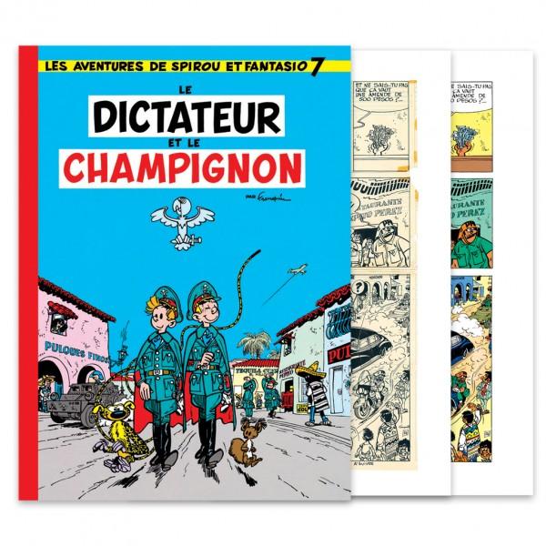 Spirou, Le Dictateur et le Champignon - Couleurs et fac-similé