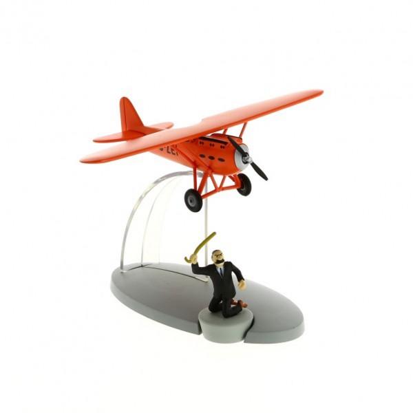 L'avion rouge de Müller