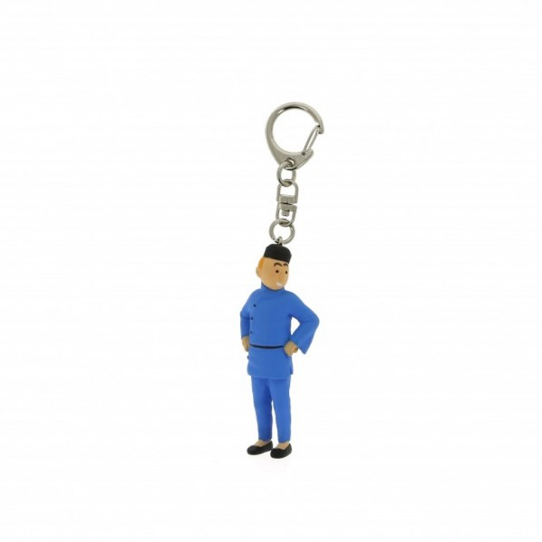 Keyring Tintin Blue Lotus
