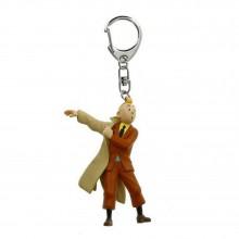 Porte-clés Tintin - Tintin met son trench