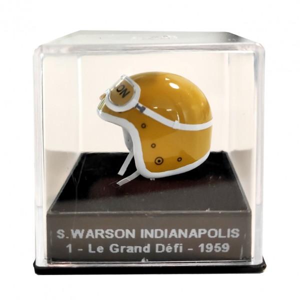 Mini casque Michel Vaillant - S.Warson Indianapolis 1