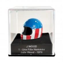 Mini casque Michel Vaillant - J. Wood 1