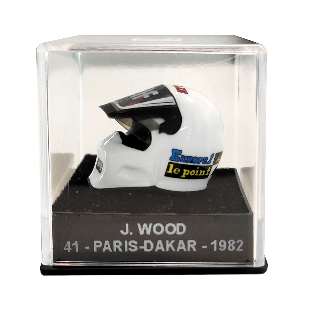 Mini casque Michel Vaillant - J. Wood 41